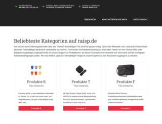 raisp.de screenshot