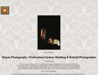 raiynephotography.com screenshot