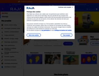 raja.fr screenshot