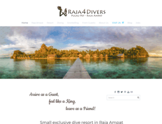 raja4divers.com screenshot