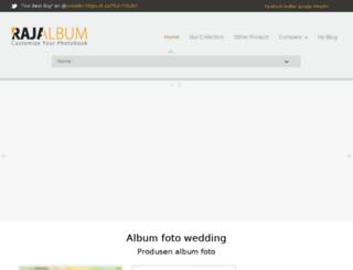 rajaalbum.com screenshot