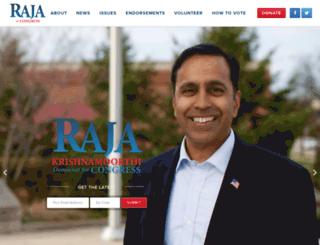 rajaforcongress.com screenshot