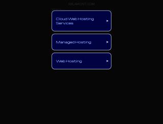 rajahost.com screenshot