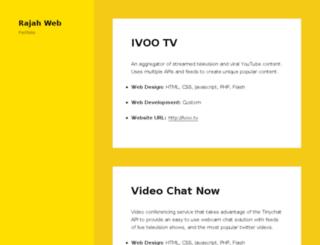 rajahweb.com screenshot