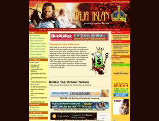rajaiklan.freehostia.com screenshot