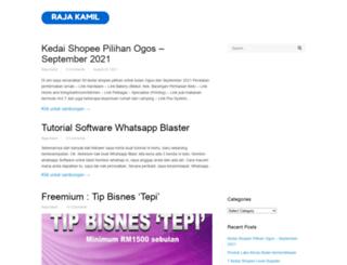 rajakamil.biz screenshot