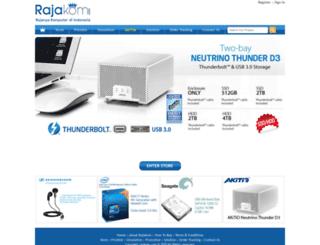 rajakom.com screenshot