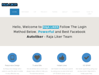 rajaliker.com screenshot