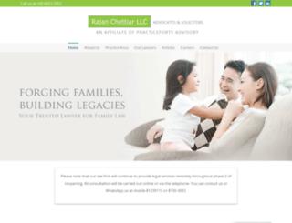 rajanchettiar.com screenshot