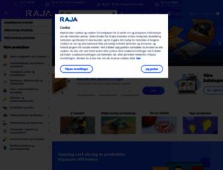 rajapack.no screenshot