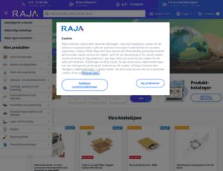 rajapack.se screenshot