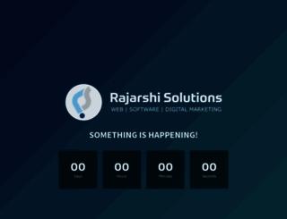 rajarshisolutions.net screenshot