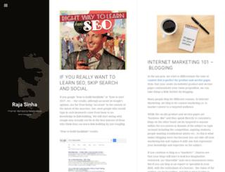 rajasinha.com screenshot