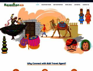 rajasthanb2b.com screenshot