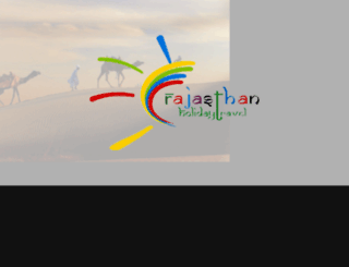 rajasthanholidaytravel.in screenshot