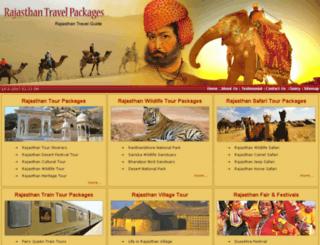 rajasthanpackage.com screenshot