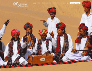 rajasthantravelguru.com screenshot