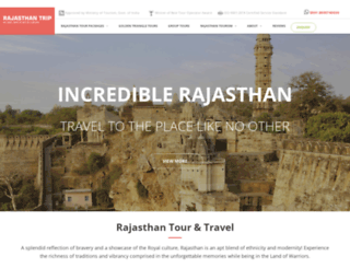 rajasthantrip.com screenshot