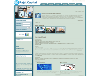 rajatcapital.com screenshot