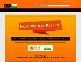 rajateknologi.com screenshot