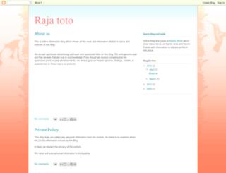 rajatoto.blogspot.com screenshot