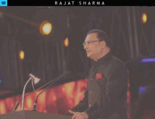 rajatsharma.in screenshot
