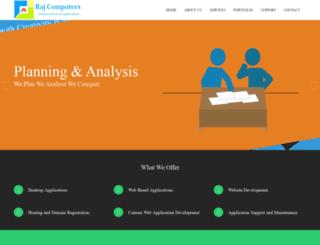 rajcomputers.com screenshot