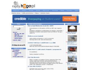 rajdy.hoga.pl screenshot
