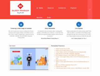 rajeevprakash.com screenshot