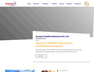 rajeshpower.com screenshot