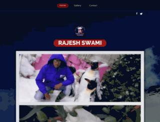 rajeshswami.in screenshot