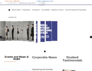 rajiv.edu.in screenshot