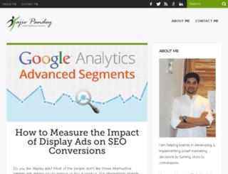 rajivpandey.com screenshot