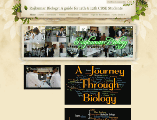 rajkumarbiology.weebly.com screenshot