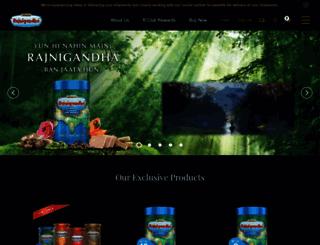 rajnigandha.com screenshot