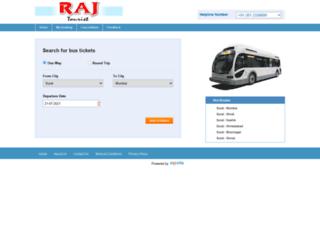 rajtourist.in screenshot