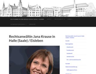 rak-jana-krause.de screenshot