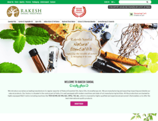 rakeshsandal.com screenshot