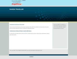rakeshtraveller.angelfire.com screenshot