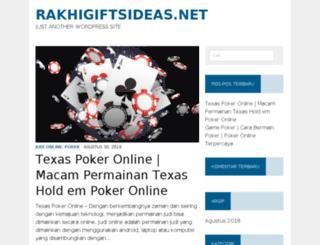 rakhigiftsideas.net screenshot