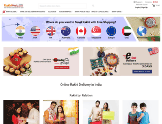 rakhimela.com screenshot