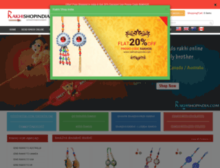 rakhishopindia.com screenshot