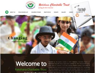 rakshana.org screenshot