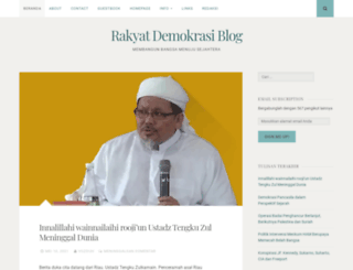rakyatdemokrasi.wordpress.com screenshot
