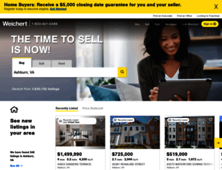 raleigh.weichert.com screenshot