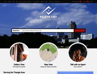 raleighcaryrealty.com screenshot