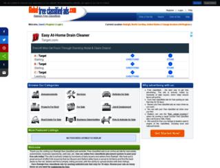 raleighnc.global-free-classified-ads.com screenshot