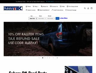 rallitek.com screenshot