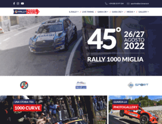 rally1000miglia.it screenshot