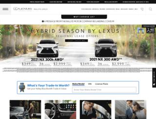 rallyelexus.com screenshot